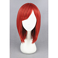 Synthetic Wig Cosplay Wig Straight Straight Wig Short Red Synthetic Hair Women's Red