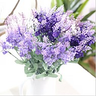 Artificial Flowers 1 Branch European Style Lavender Tabletop Flower