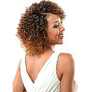 Crochet Jerry Curl Ombre Hair Weaves Hair Bulk Curly Braids Blonde Auburn Ombre Synthetic Hair 100% kanekalon hair Braids 14 inch Braiding Hair 3pcs / pack