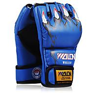 Boxsackhandschuhe Professionelle Boxhandschuhe Boxhandschuhe für das Training Für Mixed Martial Arts (MMA) Fingerlos Schützend Schwamm Unisex - Schwarz Weiß Gelb