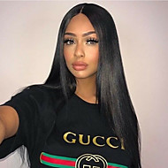 Brazilian Hair 360 Frontal Straight / 360 Frontal Free Part Swiss Lace Remy Human Hair