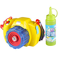 Bubble Blowing Toy Toy Camera Electric Music & Light Plastics Kid's Toy Gift