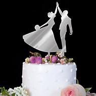 케이크 장식 생일 웨딩 고품질 플라스틱 결혼식 생일 와 1 PVC가방