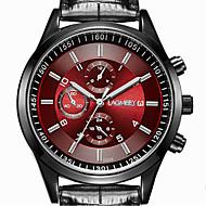 Men's Wrist Watch Quartz Stainless Steel Black 30 m Casual Watch Analog Classic Casual Fashion Dress Watch - Black Black / Red Black / White One Year Battery Life / ETA 377A