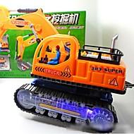 Spielzeug-Autos / LED - Beleuchtung / Bildungsspielsachen Baustellenfahrzeuge Musik Instrumente / Aushebemaschinen Elektrisch Kunststoff Kinder Geschenk