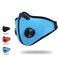 XINTOWN Sports Mask Pollution Protection Mask Windproof Fleece Lining Breathable Limits Bacteria Reduces Chafing Bike / Cycling Black Orange Blue for Men's Women's Adults' Cycling / Bike Motobike