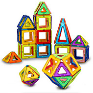 Blok magnetyczny Płytki magnetyczne Klocki 40 pcs Magnetyczne Dla chłopców Dla dziewczynek Zabawki Prezent / Dla dzieci