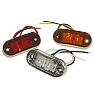 baratos -sencart 1 peça caminhão / motocicleta / car lâmpadas 1 w mergulho levou 120lm 2 luzes exteriores decoração luzes para universal todos os anos
