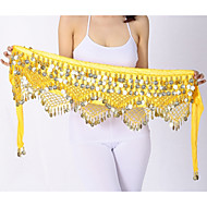 Belly Dance Hip Scarves Women's Performance Polyster Paillette Hip Scarf