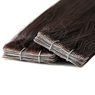 Neitsi Tape In Human Hair Extensions Classic Human Hair Human Hair Extensions Sidespray New Arrival Women's Medium Brown