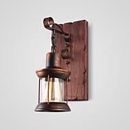Lightinthebox Rusztikus / Vintage / Ország Fali lámpák Otthoni Fém falikar 220 V / 110 V 60W