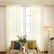 nová evropská střihací záclony s čistým vlasem, průsvitná clona, čiré záclony n do obývacího pokoje, ložnice, pracovna