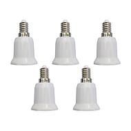 5pcs E14 to E27 E27 Simple Light Bulb Socket