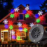 U'King LED Stage Light / Spot Light / Projector Light Sound-Activated / Music-Activated for For Home / Outdoor / Party Waterproof / Christmas / Professional