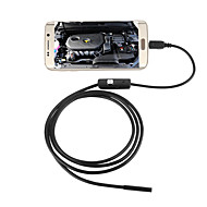 JINGLESZCN 5.5mm USB Endoscope Camera 2M Waterproof IP67 Inspection Borescope Snake Camera for Android PC
