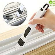 2 in 1 multi-function window slot brush with dustpan screen keyboard drawer wardrobe corner gap Dust removal cleaning brush