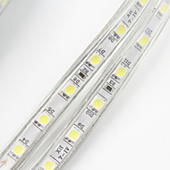 abordables -30m Lumières de bande LED Ruban LED 1800 LED 5050 SMD Blanc Chaud Blanc Rouge Imperméable Découpable Tiktok 220 V