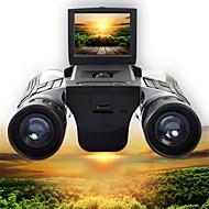 preiswerte -12 X 32 mm Fernglas Hochauflösend LCD Anzeige Video Camping & Wandern Jagd Klettern Silikon Gummi Gummi Silikon