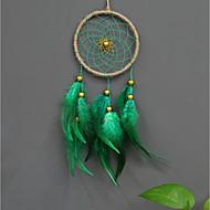 handmade captatorii de vis cu pene tradiționale decoratiuni perete draperii