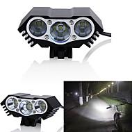 povoljno -LED Svjetla za bicikle Prednje svjetlo za bicikl Svjetlo za bicikle LED Brdski biciklizam Bicikl Biciklizam Vodootporno Višestruka načina Super Bright Wide Angle 18650 3000 lm DC Powered Biciklizam