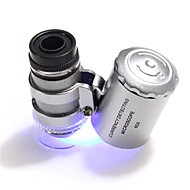 60 X 10 mm Microscop Camping & Drumeții / Utilizare Zilnică Portabil