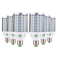 YWXLIGHT® 6pcs 35 W LED Corn Lights 3500 lm E26 / E27 108 LED Beads SMD 5730 Decorative Warm White Cold White Natural White 85-265 V