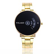 Men's Women's Casual Watch Sport Watch Fashion Watch Quartz Luxury Casual Watch Digital Black / Gold Gold / White Black / Silver / Stainless Steel
