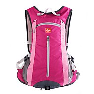 Naturehike 15 L Hiking Backpack Breathable Straps - Lightweight Breathable Rain Waterproof Outdoor Hiking Cycling / Bike Camping Nylon Fuchsia Sky Blue Dark Navy