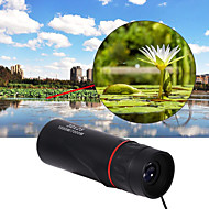 10 X 25 mm Monocular Lenses Portable Night Vision Multi-coated BAK4 Camping / Hiking Hunting Trail Night Vision Plastic Shell