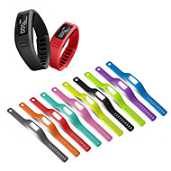 cheap -Silicone Wrist Strap Replacement watch band for Garmin Vivofit 1/Vivofit 2 Bracelet belt