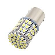 baratos -10pcs 1156 / ba15s lâmpadas para motocicleta / carro 3 w smd 3020 250 lm 64 led fog light / luz diurna / luz de pisca para universal todos os anos