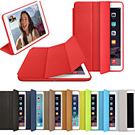 Case For Apple iPad Air / iPad 4/3/2 / iPad (2018) Flip / Origami / Magnetic Full Body Cases Solid Colored Hard PU Leather / iPad (2017) / iPad Pro 10.5