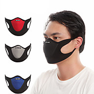 cheap -Sports Mask Pollution Protection Mask Patchwork Breathable Dust Proof Bike / Cycling Red Grey Blue Velvet Lycra for Men's Women's Adults' Cycling / Bike Bike / Cycling Trail Patchwork 1 pc