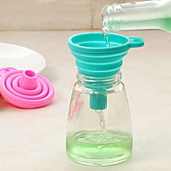 Silicone Funnel Easy to Carry Creative Kitchen Gadget Kitchen Utensils Tools Everyday Use 1pc