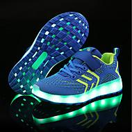 رخيصةأون -للصبيان / للفتيات LED / مريح / أحذية مضيئة حياكة / تول أحذية رياضية طفل (9M-4ys) / الأطفال الصغار (4-7 سنوات) / الأطفال الصغار (7 سنوات +) LED / مضيء أسود / زهري / أزرق للربيع والصيف / زفاف / TR
