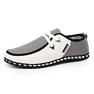 povoljno -Muškarci Udobne cipele PU Proljeće / Jesen Uglađeni Sneakers Hodanje Crn / Obala / Zelen / Kombinacija materijala / Vanjski / EU40