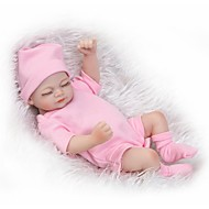 NPKCOLLECTION NPK DOLL Reborn Doll Girl Doll Baby Baby Girl 12 inch Full Body Silicone Silicone - Newborn lifelike Cute Child Safe Small Size Non Toxic Kid's Girls' Toy Gift