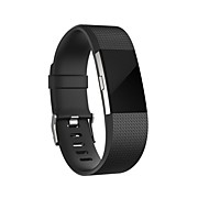 cheap -Watch Band for Fitbit Charge 2 Fitbit Sport Band Silicone Wrist Strap