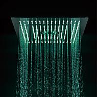 Contemporary Rain Shower Chrome Feature - LED / Shower, Shower Head