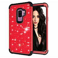Case For Samsung Galaxy S9 / S9 Plus Shockproof / Glitter Shine Full Body Cases Glitter Shine Hard PC
