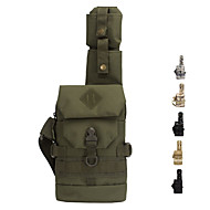 6 L Hiking Sling Backpack Military Tactical Backpack Wear Resistance Outdoor Hiking Camping Military / Tactical Oxford Army Green Camouflage Khaki