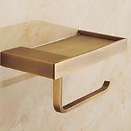economico -porta scopino design premium / cool ottone moderno 1pc porta carta igienica a parete