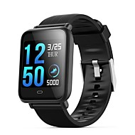 q9 vedenpitävä urheilu smartwatch for android ios bluetooth sykemittari verenpaineen mittaus kosketusnäyttö kalorit poltettu liikunta tallennuksen ajastin sekuntikello askelmittari