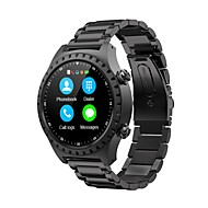 M1 Smart Watch BT Steel Stainless Fitness Tracker Support Notify/ Heart Rate Monitor Built-in GPS Sports Smartwatch Compatible with iPhone/ Samsung/ Android Phones