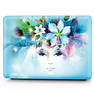"Capa para MacBook Flor PVC para MacBook Pro 13 Polegadas / MacBook Pro 15 Polegadas com Retina Display / New MacBook Air 13"" 2018"
