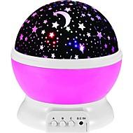 1pc Night Lamp Sky Scene LED Lighting Projector Lamp Galaxy Starry Sky Glow Romantic Gift