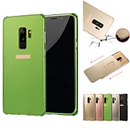 Case For Samsung Galaxy S9 / S9 Plus / S8 Plus Shockproof / Plating Back Cover Solid Colored Hard Aluminium