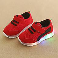 abordables -Chico / Chica LED / Confort / Zapatos con luz Malla Zapatillas de deporte Niño pequeño (9m-4ys) / Niños pequeños (4-7ys) Cierre Autoadherente / LED Verde / Rojo / Azul Otoño invierno