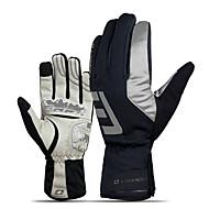 Winter Bike Gloves / Cycling Gloves Ski Gloves Mountain Bike Gloves Mountain Bike MTB Thermal / Warm Touch Screen Windproof Anti-Slip Full Finger Gloves Touch Screen Gloves Sports Gloves Fleece Mesh