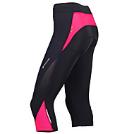 Nuckily Women's Cycling 3/4 Tights Bike Pants Bottoms Breathable Sports Polyester Red / black / Bule / Black / Black+Purple Mountain Bike MTB Road Bike Cycling Clothing Apparel Advanced Relaxed Fit